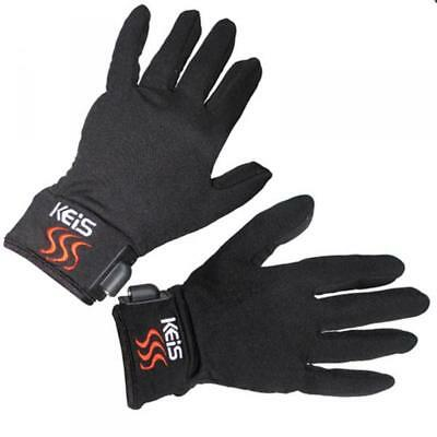 Keis X200 Heated Inner Gloves with Dual Power Technology - Bike or Batteries