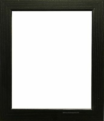 Black Photo Frames Poster Size Frame Picture Frame Wood Effect In Various Sizes