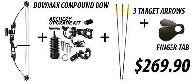 RTS BOWMAX 60LB Compound Bow Kit Archery Bow Hunting