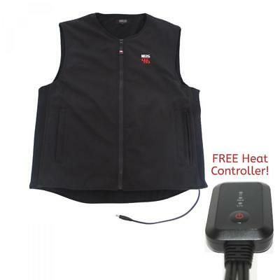 Keis X10 12V Dual Power Heated Vest Body Warmer with FREE 2016 Heat Controller