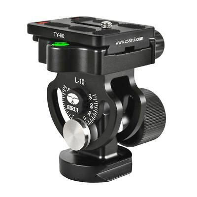 New SIRUI L-10 Aluminium Tilt Head With Quick Release Plate for Monopods HK