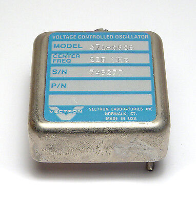 Vectron Quarz-Oszillator / Voltage Controlled Oscillator 371-6986, VCXO, 220 MHz