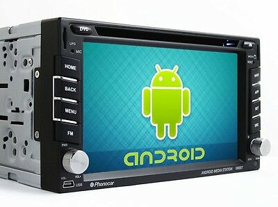 "Phonocar VM007 Media Station ANDROID 6,2"" Bluetooth Modulo GPS integrato"