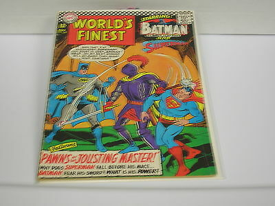 World's Finest Comics #162 (Nov 1966, DC) Pawns of the Jousting Master