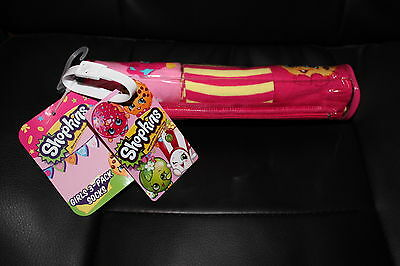Shopkins 3 Pack SOCKS - So cute - Comes with gift case and Bonus BAG TAG