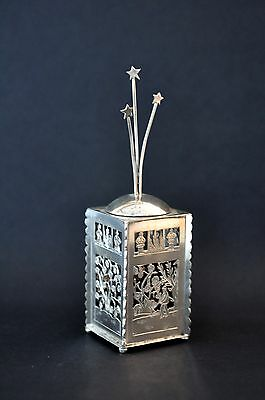 Square Havdallah Spice Box from Itzhak Luvaton's Collection