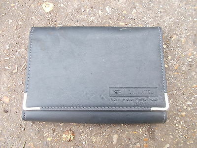 Daihatsu Models Original Dark Grey Plastic Folding Wallet For Vehicle Documents