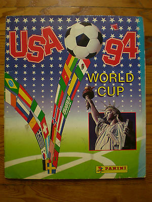 Panini World cup mundial USA 1994 full album 100% official complete football