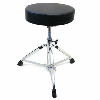 Drum Stool Seat Throne Heavy Duty Thread Style Thick Padded Top DP DRUMS T1A