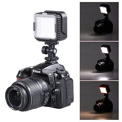 CN-LUX360 5400K Dimmable LED Video Light Lamp for Canon Nikon Camera Camcorder
