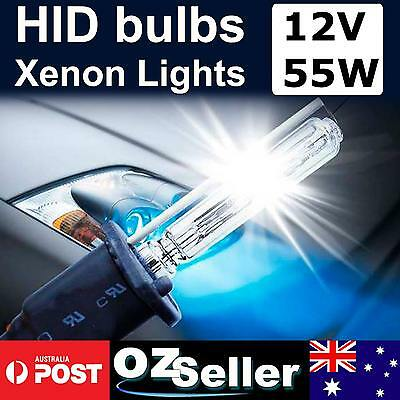 55W HID Xenon Light Car Globes Bulbs HeadLamp 9005/6 H1 H3 H7 H11 6000K 8000K Au