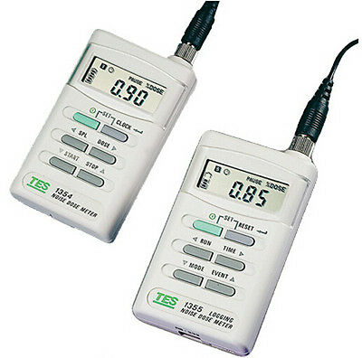 TES-1354 Noise Dose Meter Measure % Noise Dose Exposure Time Sound Level 70-90dB