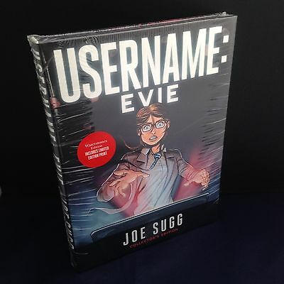 Username Evie - Joe Sugg - Limited Collector's Edition w/ Mini Print *Sealed*