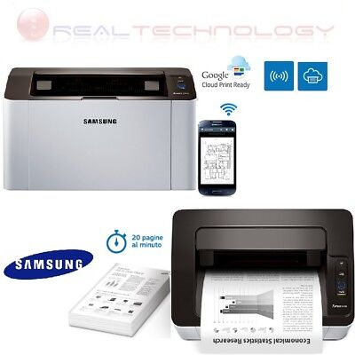 STAMPANTE SAMSUNG WIFI LASER XPRESS A4 USB 1200DPI 20S/Min MAC/WINDOWS SL-M2026W