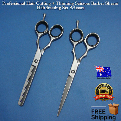 Professional Hair Cutting / Thinning Scissors Barber Shears Hairdressing Set,NEW