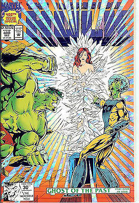 Incredible Hulk #400 (1991, vf+ 8.5) 64 page special, metallic card cover