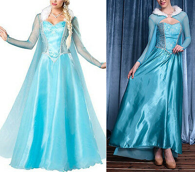 Frozen - Vestito Carnevale Donna Elsa Dress up Woman Elsa Costumes 8899010