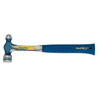 Estwing 24 oz. Solid Steel Ball-Peen Hammer Concentrically Ground Polished Face