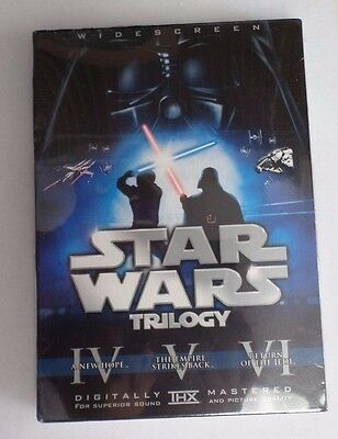 DVD Star Wars Trilogy (6-Disc) Widescreen RARE NEW Theatrical, Han Shoots First