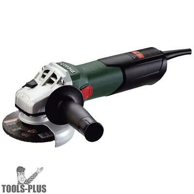 "Metabo 8.5 Amp 4-1/2"" Angle Grinder with Lock-On Sliding Switch 600354420 New"