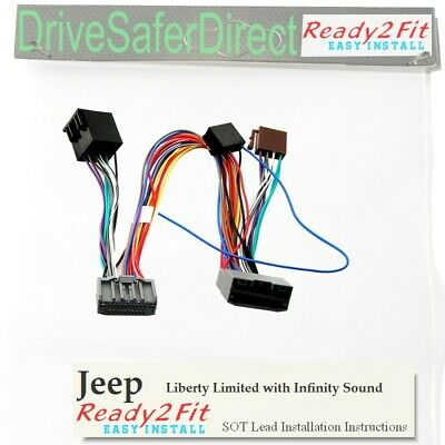 ISO-SOT-0885-z Lead for Parrot CK3100 Jeep Liberty Limited 08- Infinity