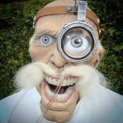 Doctor Cold animiert zitternde Dekofigur Schaufensterpuppe Halloween kurios cool