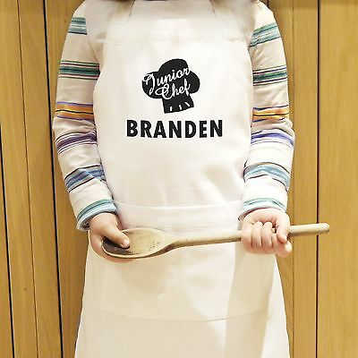 Personalised Junior Chef Kids Apron - Bake Off - Free Delivery