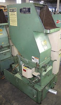 IMS Model LP-144-3 Plastic Granulator - 10HP Motor, Tested Good
