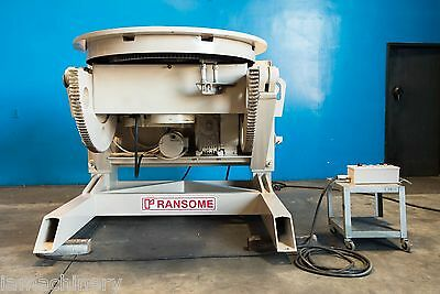 Ransome Welding Positioner 20,000 Lbs. #6975