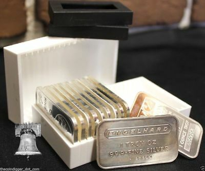 1 Sure Safe Bullion Bar Tubes Storage for Silver Copper 1oz BAR INGOT Holder
