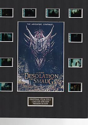 * The Hobbit Desolation of Smaug 35mm Film Cell Display *