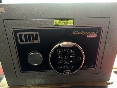 CMI MINIGUARD Digital SAFE MODEL MG2D  27kg Brisbane inspectionswelcomed