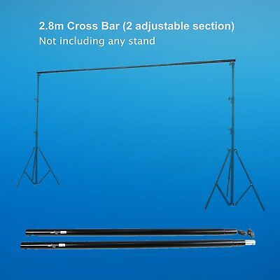 9.2Ft Adjustable Crossbar for Photography Background Backdrop Support Stand