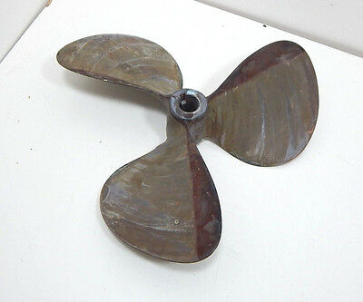Antique Boat Propeller 582L Three 3 Blade