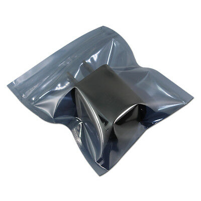 ESD Anti-Static Shielding Zip Lock Bag Plastic Antistatic Pouch For Electronics