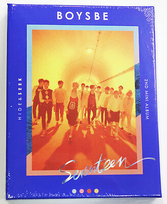 SEVENTEEN - BOYS BE [SEEK Ver.] CD+Photobook+Photocard+Postcard+Map Poster+Gift