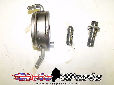 "Honda Fjs600 Silver Wing 600 2005 Oil Cooler Filter Housing ""bike Breaking"""