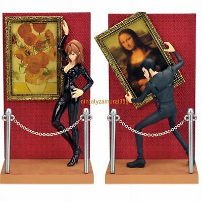 Lupin the 3rd III & Fujiko figure set Banpresto official anime Authentic