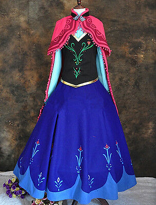 Frozen Vestito Carnevale Anna Donna Dress up Anna Woman Costume 6699020