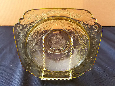 Federal Glass Madrid Amber Rimmed Soup Bowl
