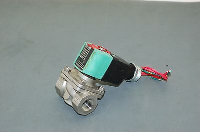 ASCO Solenoid Valve, 2 Way, NC, SS, 1/2 In - 8210P087E (amm)