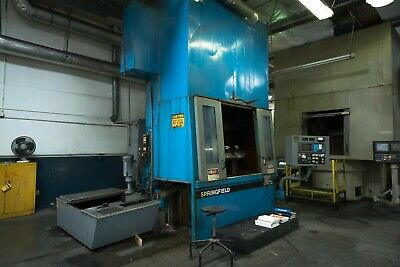"""36"""" Springfield Model 36CNC, CNC Fixed Rail Type Vertical Grinder, S/N S-2946090"""