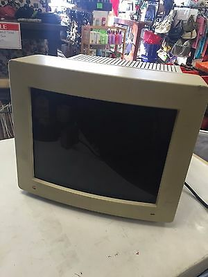 Apple Color High Resolution RGB 13 Inch Monitor M1297 1991 *UNTESTED *