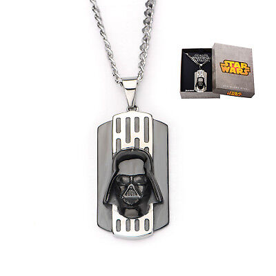 Star Wars VII: The Force Awakens Darth Vader Stainless Steel Dog Tag