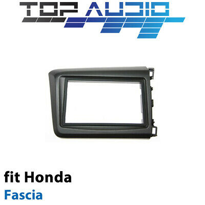 Honda Civic Car stereo radio Double Din facia kit fascia dash trim plate