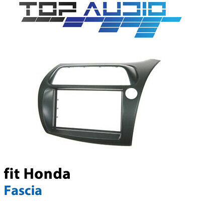 Honda Civic Hatchback radio Double Din facia kit fascia dash trim plate FP8030