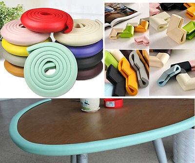 Soft Baby Safety Corner Edge Guard Cushion Desk Table Cover Protector Pads Child