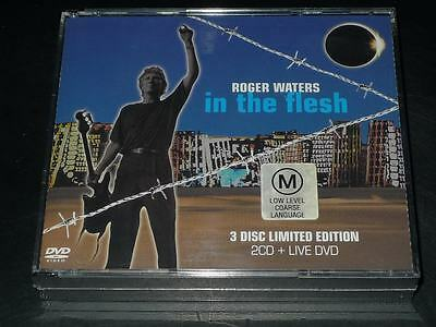 In the Flesh by Roger Waters [LIMITED EDITION 2CD+DVD]