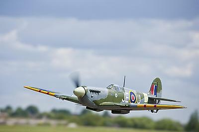 """Scale Spitfire MK IX   56""""  Giant Scale RC AIrplane Printed Plans / electric"""