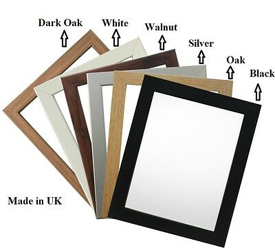 Picture Frame Photo Frame Poster Size Frame Wooden Effect A1 A2 A3 A4 A5 A6